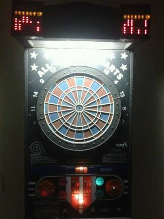 Electronic Coin Operated Dart Board For Sale - $200 (San Marcos, TX)