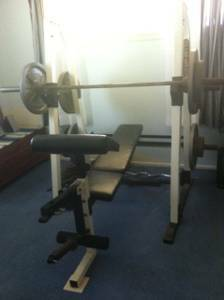 Club Weider 350 Home Gym - $250 (Seguin)
