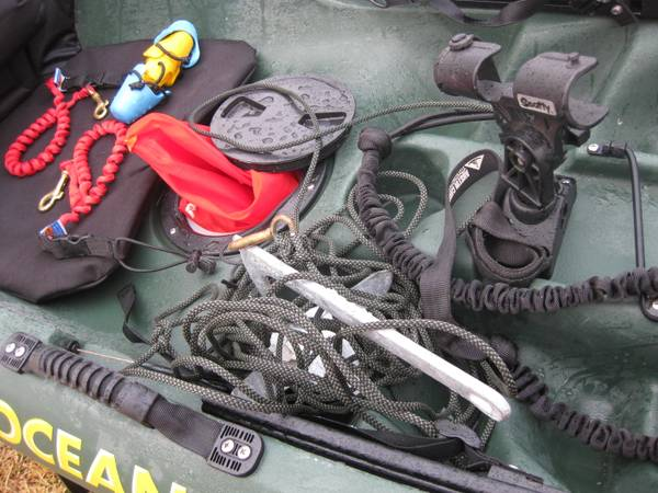 Ocean Kayak Prowler 15 with Accessories - x00241200 (new braunfels)