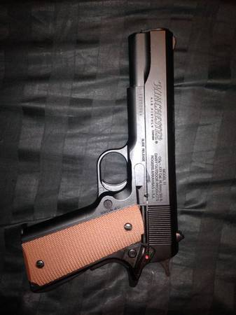 Winchester Model 1911 Metal BB Gun W25 Co2 and 6000 BBs - $110 (SchertzCibolo)