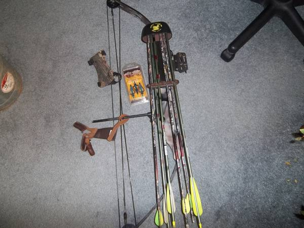 compound bow first strike bear