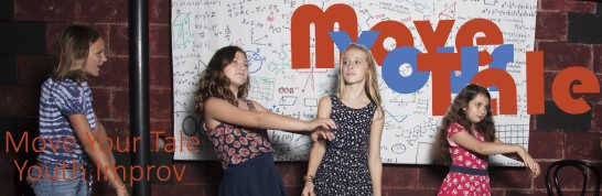 Youth Improv Classes with Move Your Tale - Early Bird Fall Registration
