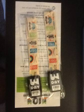 2 ACL 3 day passes for 1st weekend - $400 (San Marcos)