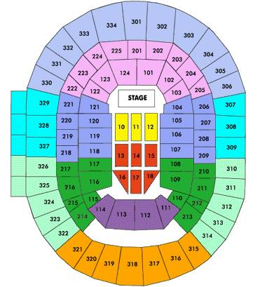 One Direction Dallas Concert Tickets Floor Seats 11 Center Stage - $5 (3rd Row Side-By-Side Seats)