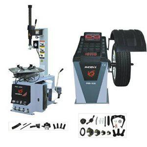 1 995  Phoenix Tire Changer Wheel Balancer combo Free Ship