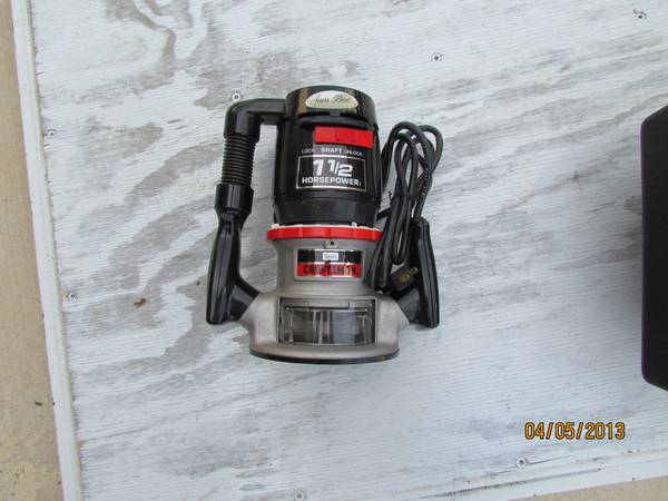 Router Craftsman 1.5 HP - $70 (San Marcos)
