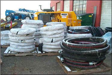 Concrete Pumping Hose and Steel Pipe with Custom Fittings for Sale