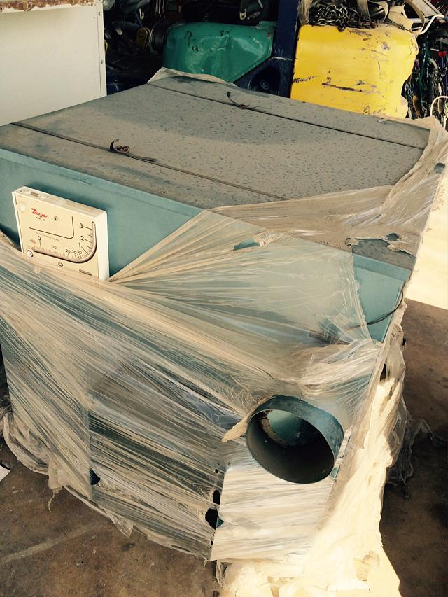 Dehumidifier - LHS-300 CFM Industrial Reduction Humidity Sys