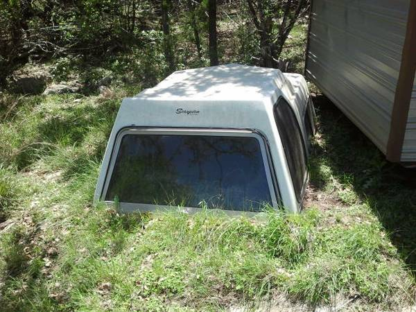 CAMPER SHELL FOR CHEVY S10 - $300 (CANYON LAKE, TX)