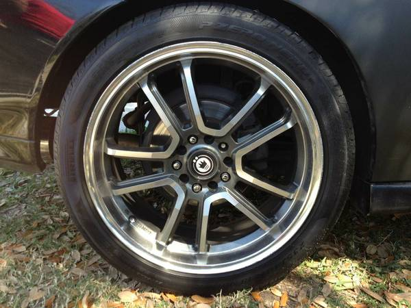 18 konig rims with tires - $450 (San Marcos)