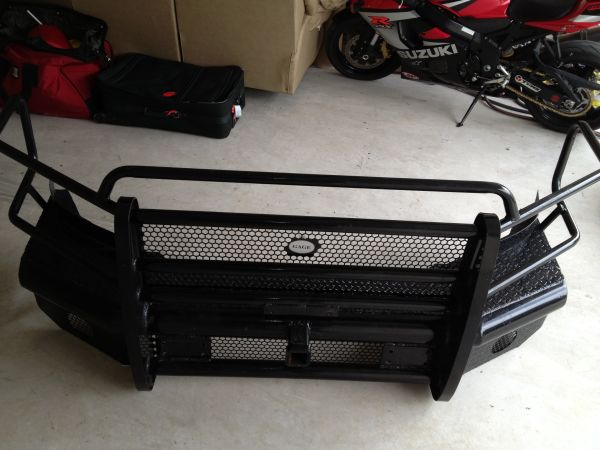 Dodge Ram Front Replacement GrilleBumper - $700 (San Marcos)