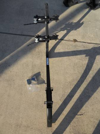NEW Yakima ROC 2-Bike Tilt-Away Rack for 2 Hitch Receivers - $80 (New Braunfels)
