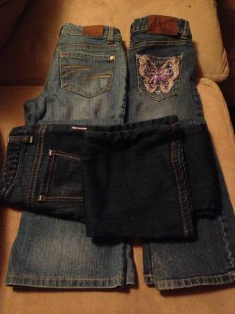 Girls jeans size 10  -   x0024 25  Seguin