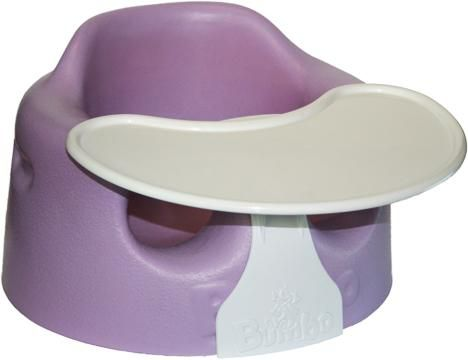NICE PURPLE BUMBO CHAIR WITH TRAY $20 - $20 (San Marcos, TX)