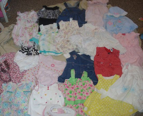 Baby Girl Clothing - $50 (San Marcos, TX)