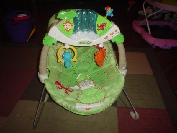 RAINFOREST BOUNCER FISHER PRICE - $30 (LULING)