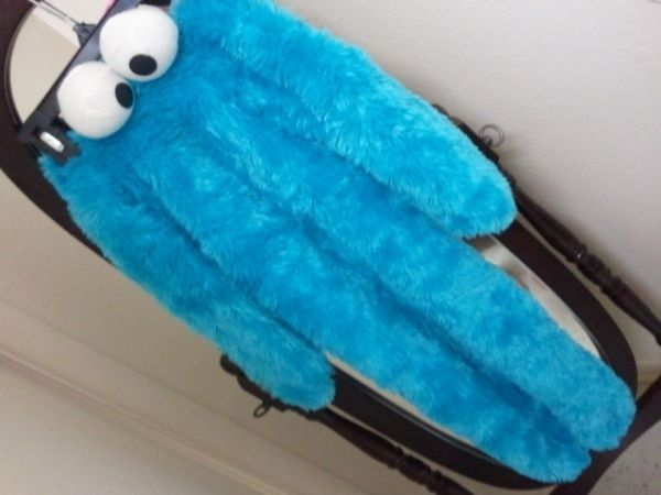 2T-3T Costume(Cookie monster) - $10 (San Marcos)