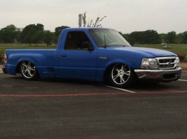 1999 Bagged Ford Ranger - $5000 (College Station)