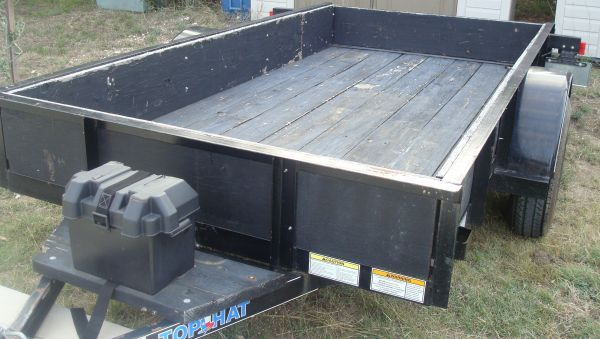 TOP HAT 10ft Tilt Style Utility Trailer - $895 (SAN ANTONIO)