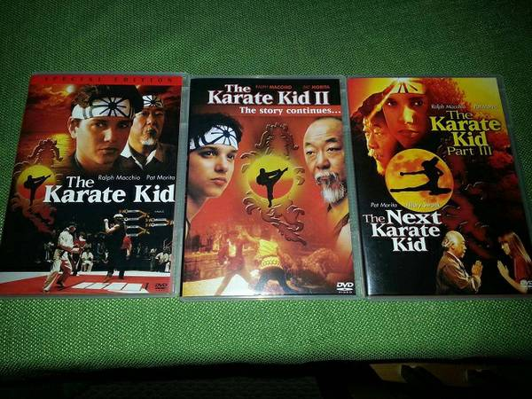 Rocky 6 DVD Set  Karate Kid 4 DVD Set  (NE-1604Judson)