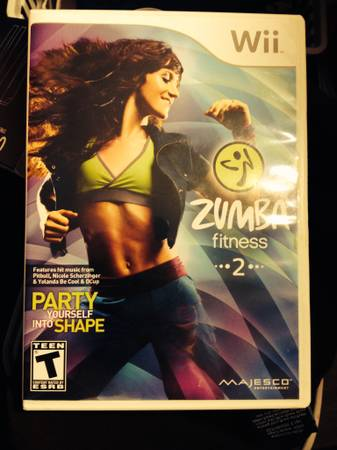 Zumba Fitness 2 for Wii -   x0024 20  San Marcos
