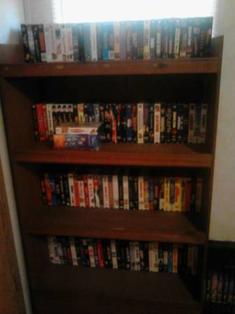 Vhs Collections over 500 tapes - $250 (South Austin )