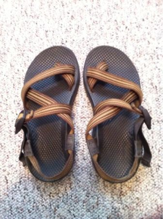 CHACOS- mens size 7 (womens 8) - $40 (San Marcos)