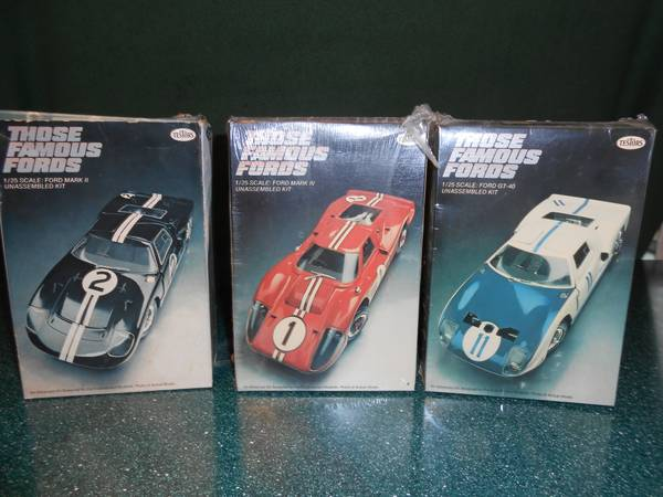 Scale model car kits -   x0024 150  San Marcos  Tx