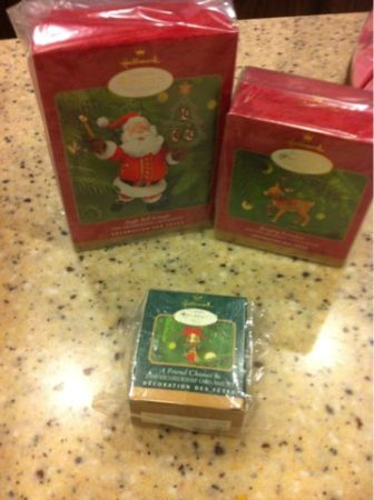 Hallmark Christmas Ornaments - $15 (New Braunfels)