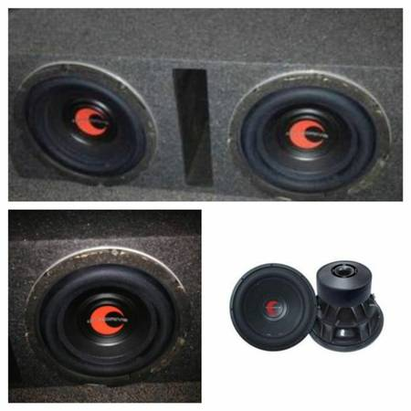 Selling 2 Lanzar Optidrive COMPETITION 12in SUBS with box - $120 (San marcos texas )