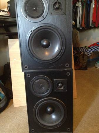 stereo speakers - $40