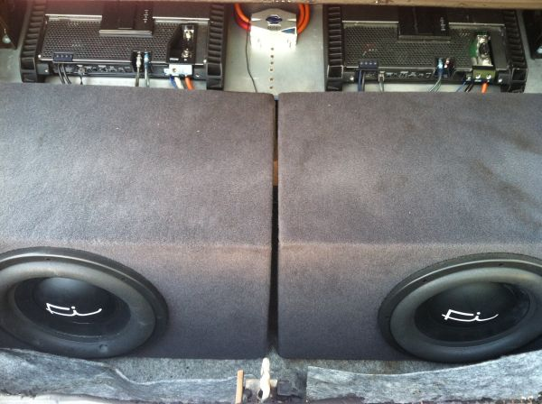 Fi BL 12 12s 12s subwoofers subs - $450 (San Marcos)