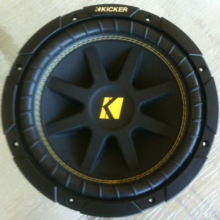 Used 10 inch 4 ohm Kicker Subwoofer - $60 (Seguin, Tx)