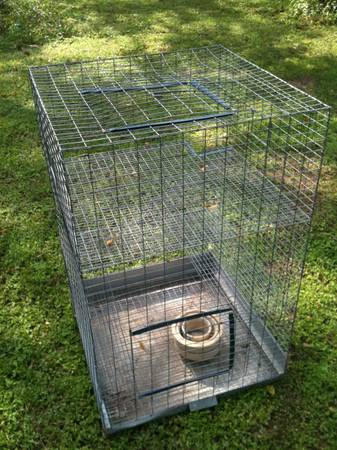Small animal cage (3 story, removable bottom tray) - $80 (Luling)