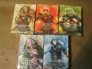 Magic the Gathering M11 PLANESWALKER HALF DECK SET MTG   5 decks start -   x0024 5  new braunfels