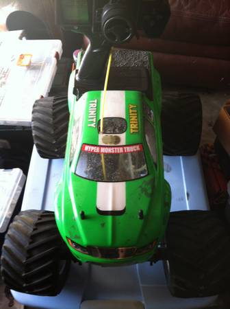 Kyosho 3 speed monster truck nitro  -   x0024 200  Vista