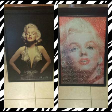 Marilyn Monroe picture Frames - $20 (new braunfels)