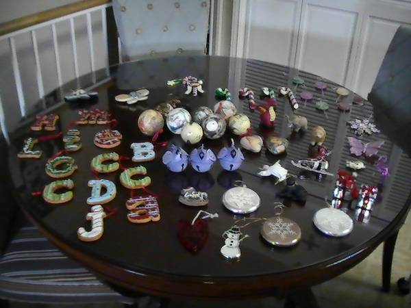 Variety of Christmas Ornaments and Decorations (South Austin)