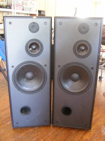 PAIR OF JBL FLOORSTANDING SPEAKERS G400 - $80 (Wimberley)