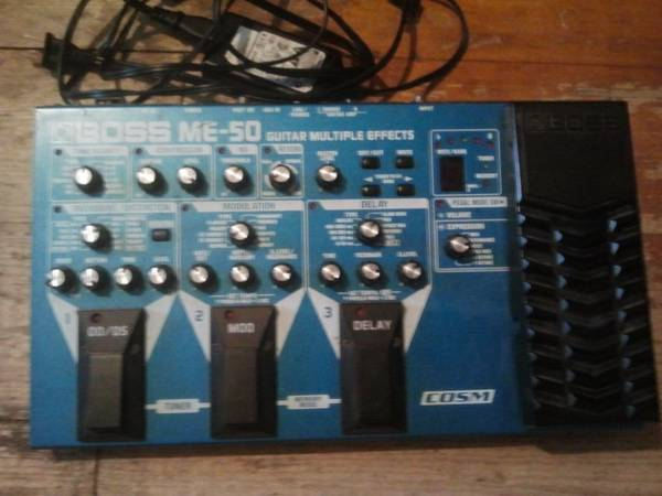 BOSS ME-50 (mutli-effects guitar pedal) Used - $75 (San Marcos, Tx)