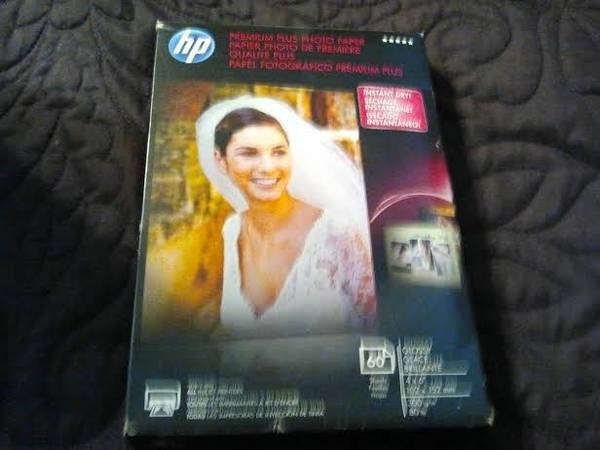 Premium Plus Photo Paper Glossy 54 sheets 4x6   -   x0024 7  Kyle