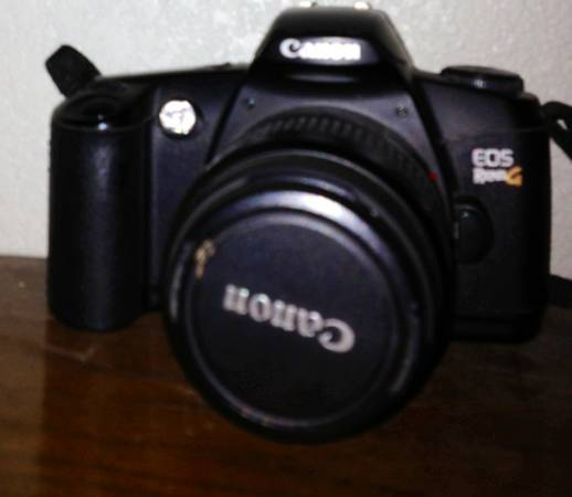 Canon EOS Rebel G 35mm SLR Film Camera - $30 (Leander)