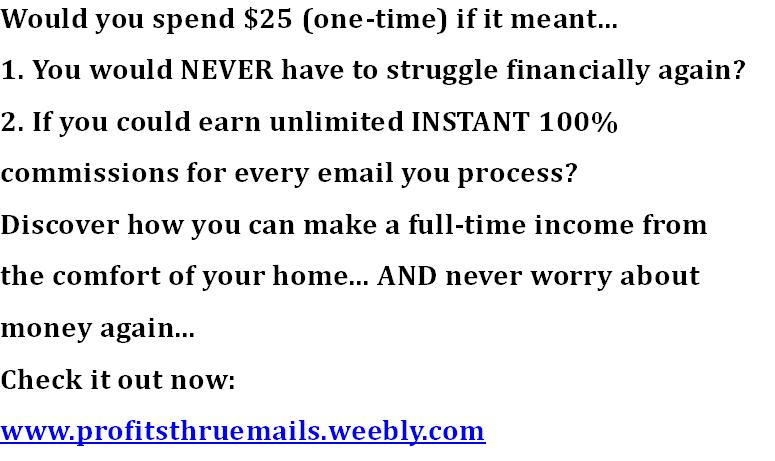Lucrative Unlimited Earnings Paid To You Daily