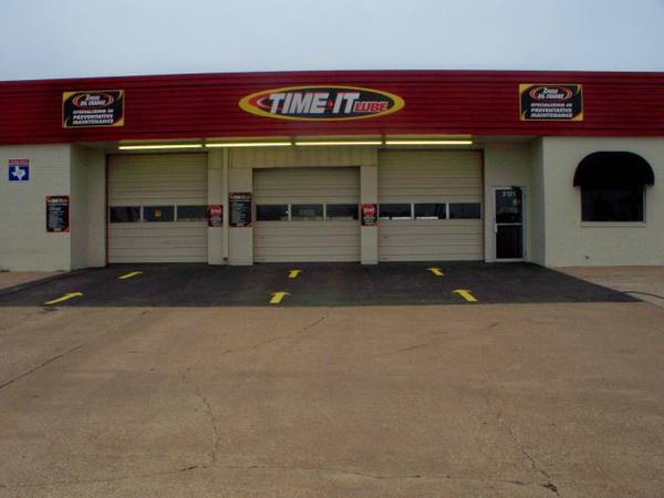 BUYER BEWARE OF TIME IT LUBE OIL CHANGE BUSINESS