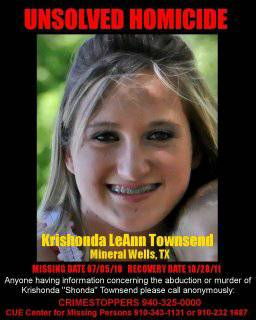 Shonda Townsend was Murdered- 20 000 Reward  Mineral Wells  TX