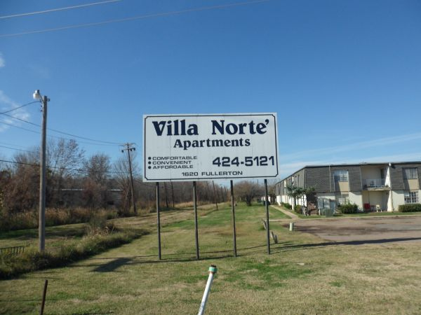 $385  1br - Villa Norte Apartments (Shreveport Louisianna)