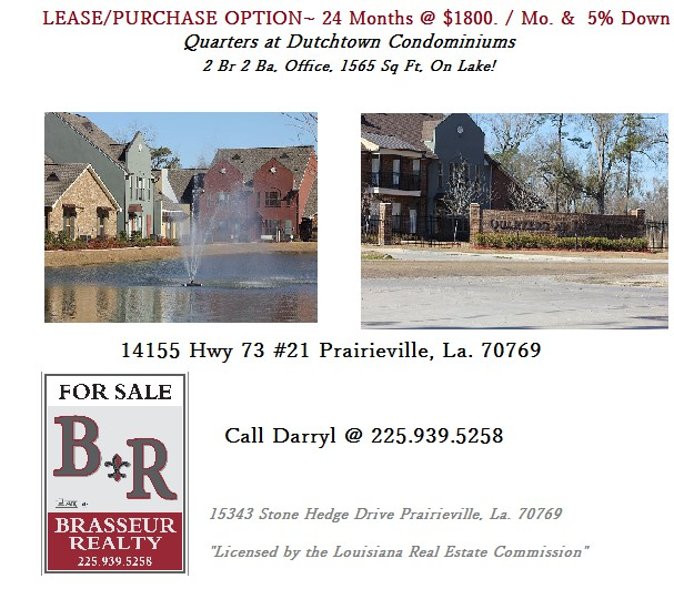 1 800  2br  LEASEPURCHASE Option 24 Months-5 Down