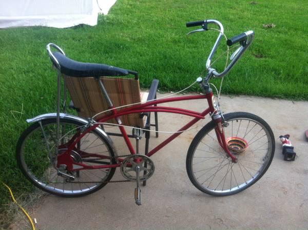 Vintage Western Flyer 24 inch 5 speed banana seat bike - $100 (Bossier)