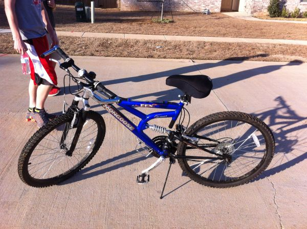 mongoose mountain bike - $100 (haughton)