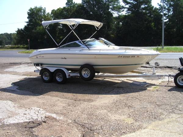 1994 21 ft sea ray - $7800 (8114 mansfield rd.)